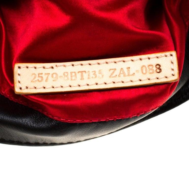 Fendi Black Embellished Micro Baguette Shoulder Bag 2