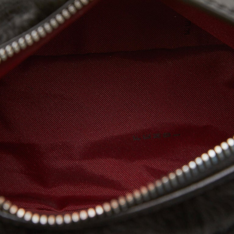 Fendi Black Fur Handbag For Sale 1
