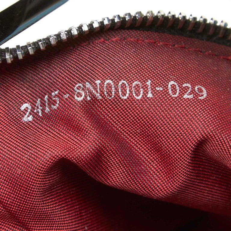 Fendi Black Fur Handbag For Sale 3