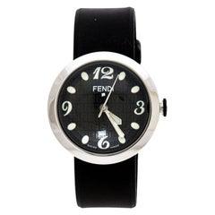 Fendi Black Stainless Steel 8010 G Women's Wristwatch 36MM