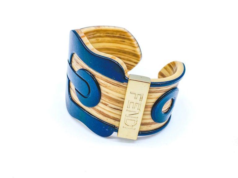 Fendi Bracelet Buckle Cuff For Sale 8