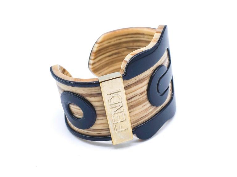 Fendi Bracelet Buckle Cuff For Sale 10