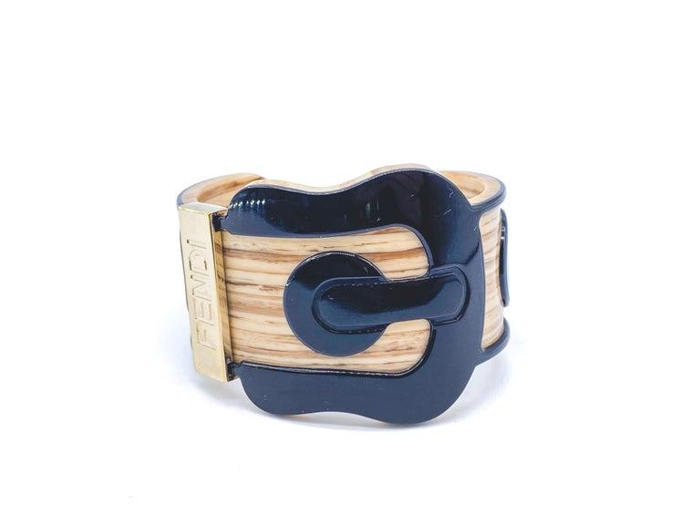 Fendi Bracelet Buckle Cuff For Sale 11