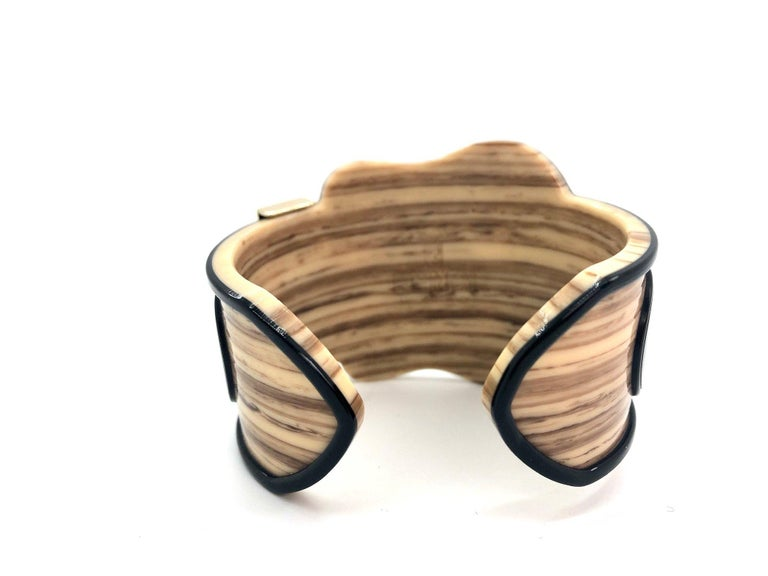 Fendi Bracelet Buckle Cuff In Excellent Condition For Sale In London, GB