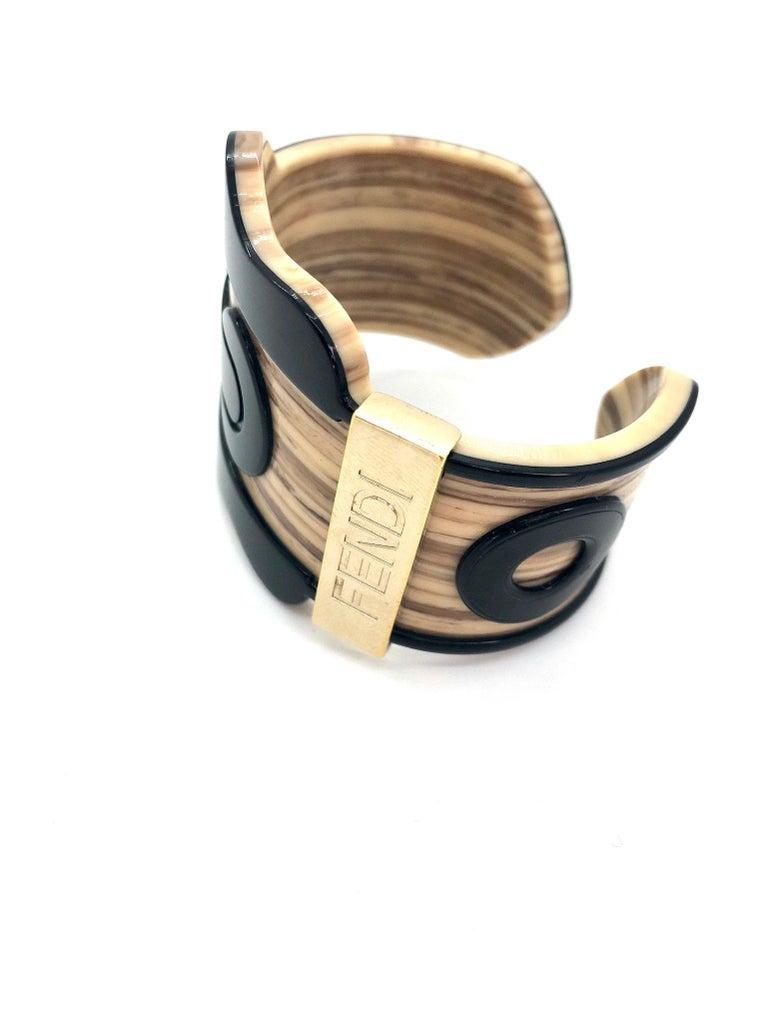 Fendi Bracelet Buckle Cuff For Sale 4