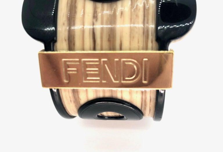 Fendi Bracelet Buckle Cuff For Sale 5