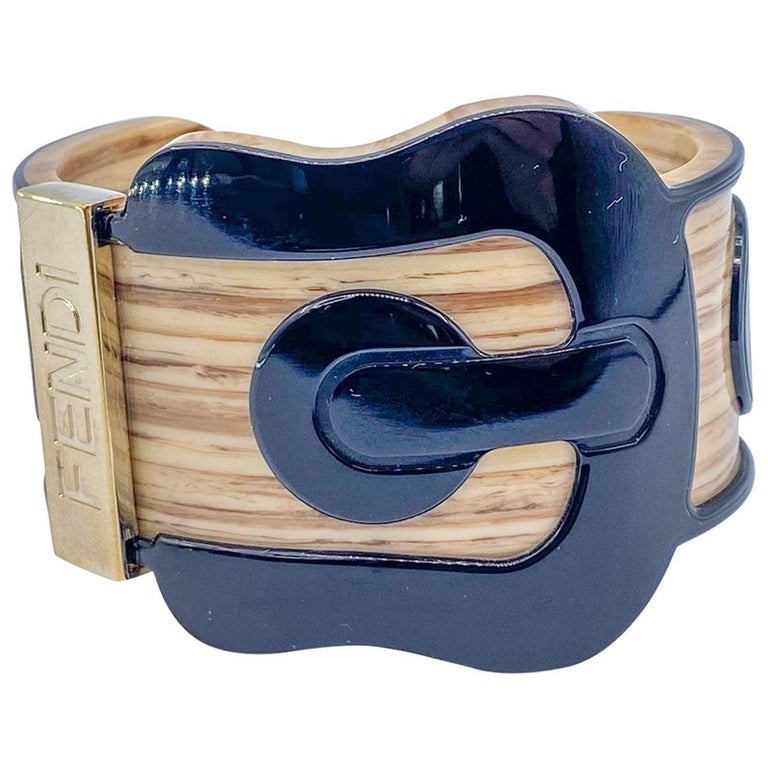 Fendi Bracelet Buckle Cuff For Sale