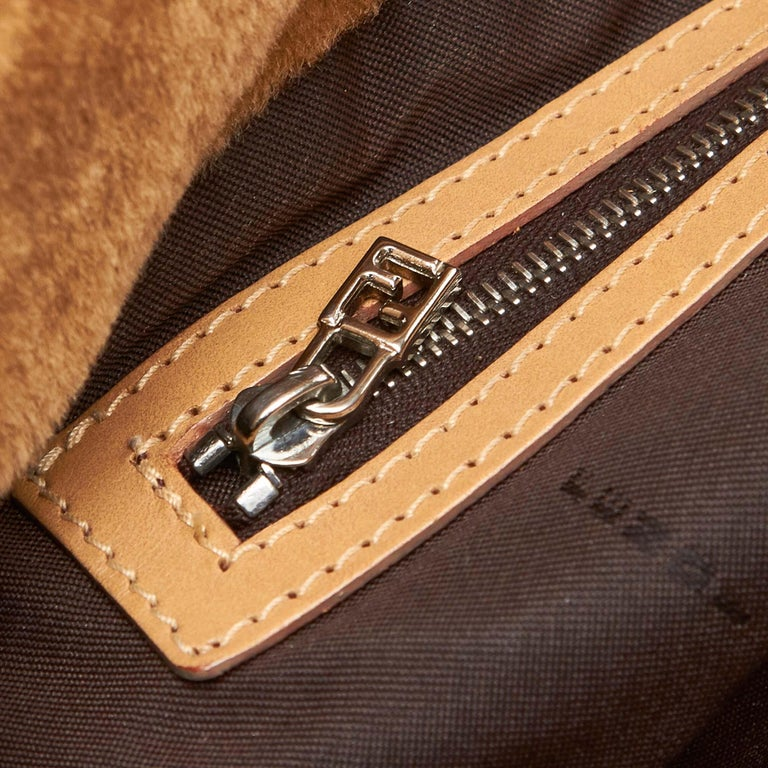 Fendi Brown Faux Fur Tote Bag For Sale at 1stdibs fd2df768ebe96