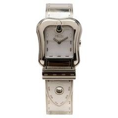 Fendi Brown Stainless Steel B. Fendi Women's Wristwatch 23MM