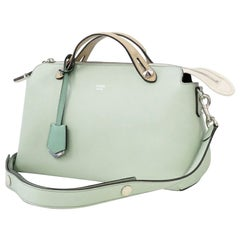 FENDI BY THE WAY 2WAY shoulder Womens handbag 8BL124-5QJ Light green