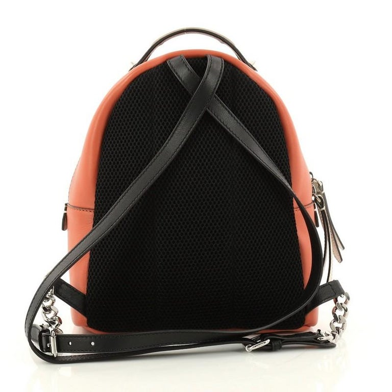 Fendi By The Way Backpack Leather Mini In Excellent Condition For Sale In  New York 99d5052071a9f