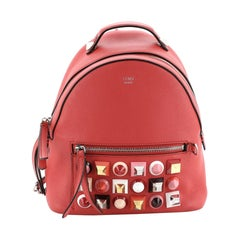 Fendi By The Way Backpack Studded Leather Mini