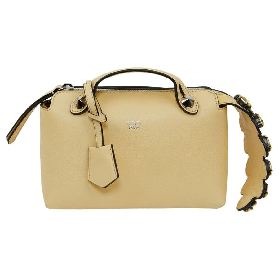 """FENDI """"By The Way"""" Bauletto Jonquille Bag"""