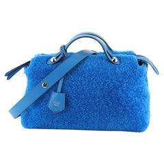 Fendi By The Way Satchel Shearling Small