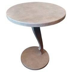 Fendi Casa Sculptural Shagreen Leather Cocktail Table Offered by La Porte