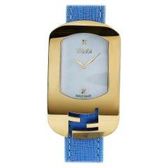 Fendi Chameleon Gold-Tone Quartz Watch F300434532D1