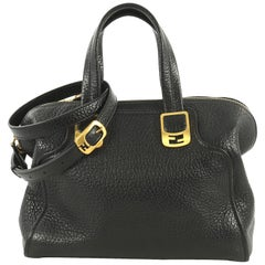 Fendi Chameleon Satchel Leather Medium