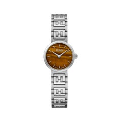 Fendi Chamfered Tiger's Eye Dial Ladies Watch F103101001