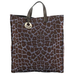 Fendi Chef Shopper Tote Printed Canvas Large