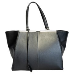 Fendi Classic Black 3Jours Leather Tote Bag