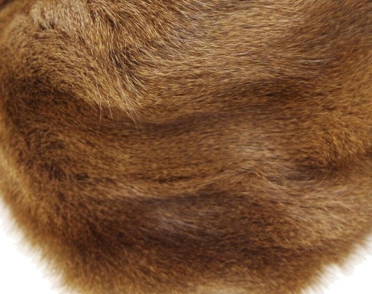 Fendi Cognac Brown Fur Exotic Leather Gold Medium Evening Shoulder Flap Bag 1