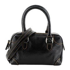 Fendi Convertible Boston Bag Patent Mini