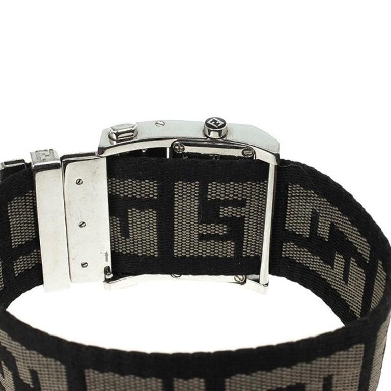 Women's Fendi Cream Zip Code Womens Wristwatch 32 MM For Sale