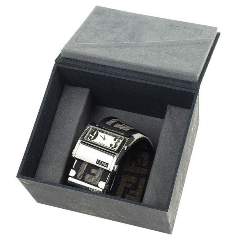Fendi Cream Zip Code Womens Wristwatch 32 MM For Sale 1