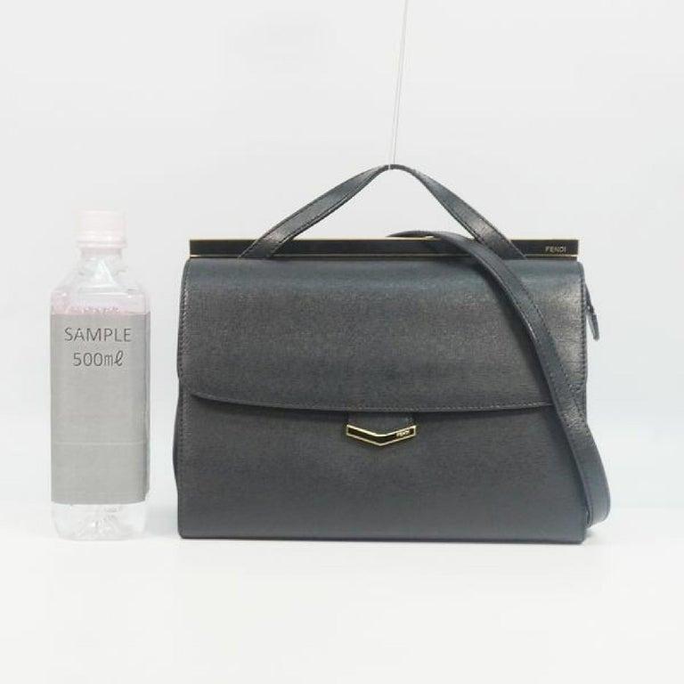 FENDI Demi Jour Womens handbag 8BT222 black For Sale 10