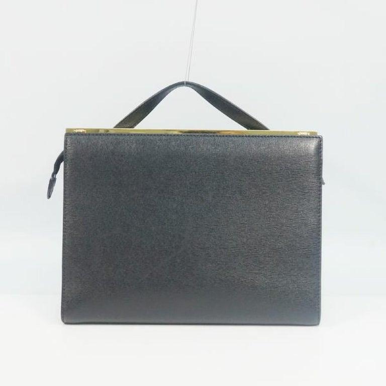 Black FENDI Demi Jour Womens handbag 8BT222 black For Sale