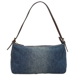 Fendi Denim baguette bag