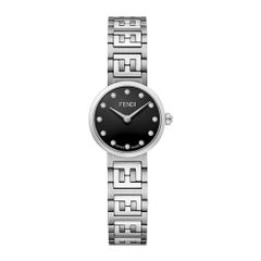 Fendi Diamond Black Dial Ladies Watch F103102301