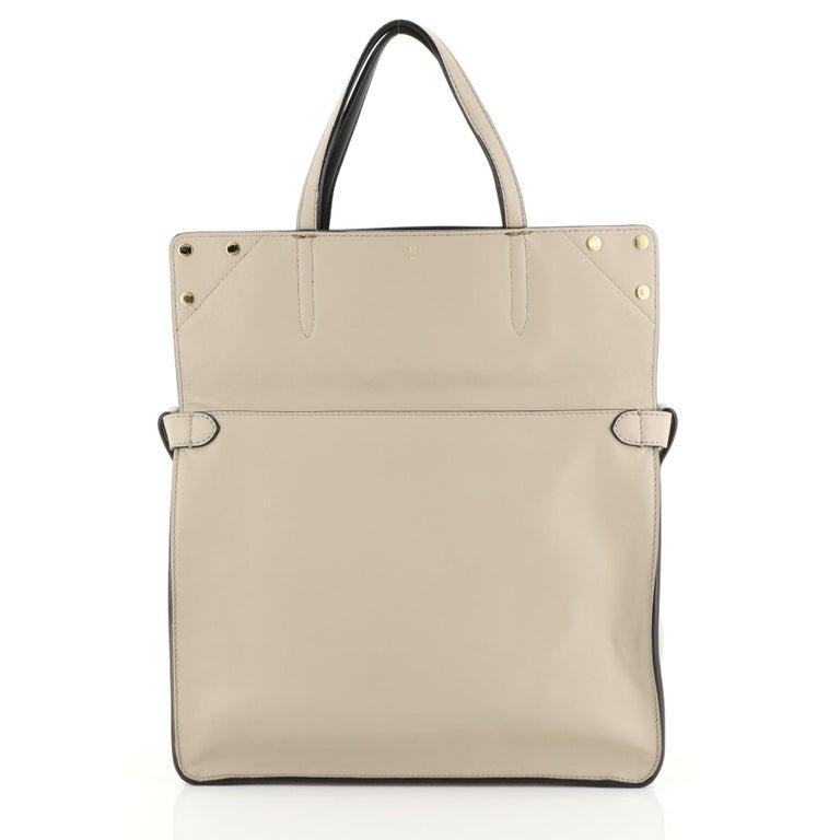 Fendi Flip Grace Convertible Tote Leather Regular 1