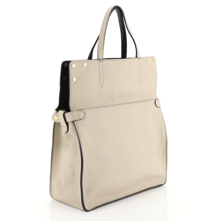 Fendi Flip Grace Convertible Tote Leather Regular 2