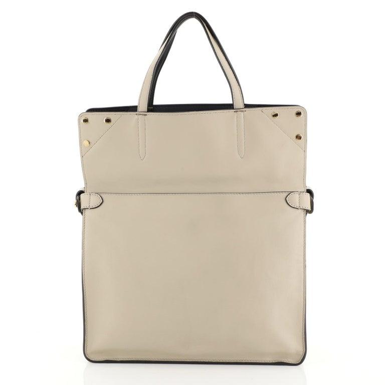 Fendi Flip Grace Convertible Tote Leather Regular 3
