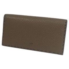 FENDI Folded long wallet Selleria continental Wallet unisex long wallet 7M0186 0
