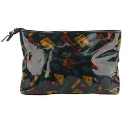 Fendi For Stiassi Vintage Cosmetic Bag