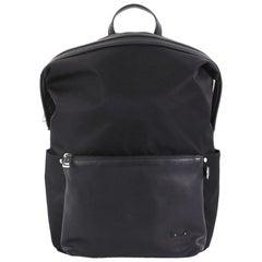 Fendi Front Pocket Monster Backpack Nylon and Leather Large