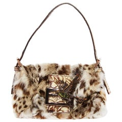 Fendi Fur Mini Baguette