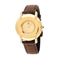 Fendi Gold Plated 400G Women's Wristwatch 36 mm