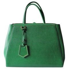 Fendi Green 2Jours Bag