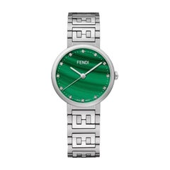 Fendi Green Dial Ladies Watch F102101901