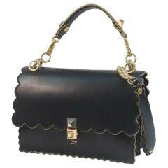 FENDI Kan I 2WAY Womens handbag 8BT283 black