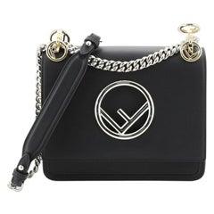 Fendi Kan I F Shoulder Bag Leather Small