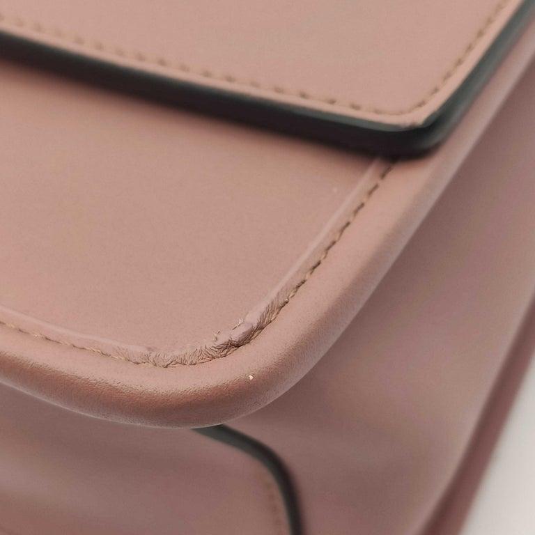FENDI Kan I Handbag in Pink Leather 5