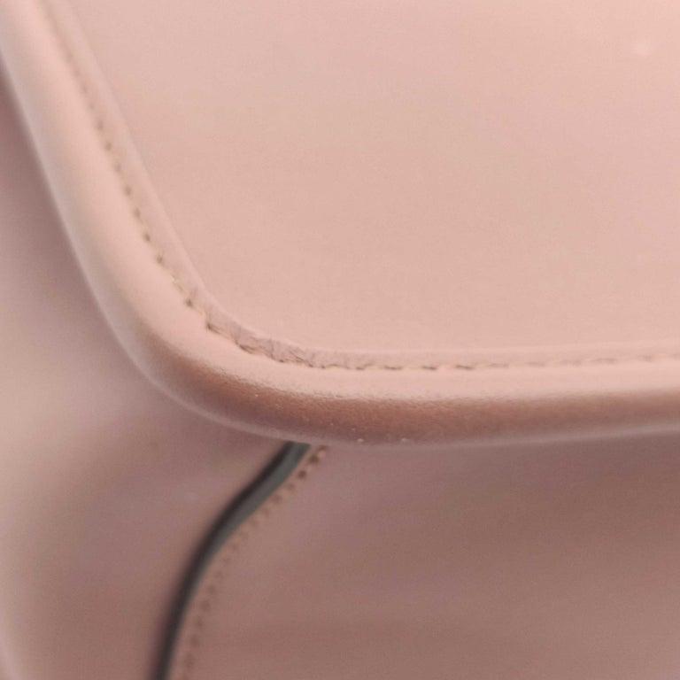 FENDI Kan I Handbag in Pink Leather 6