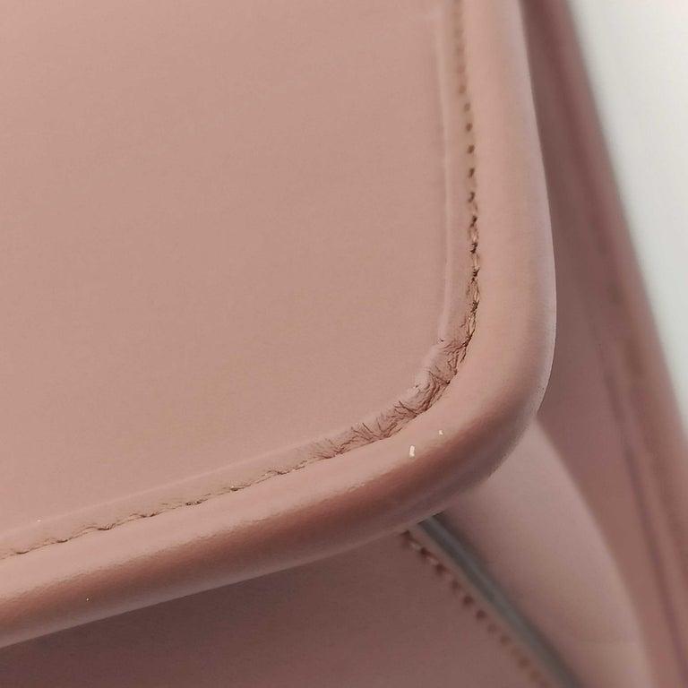 FENDI Kan I Handbag in Pink Leather 7