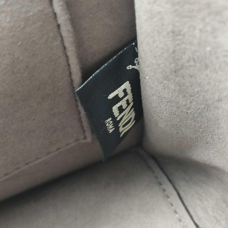 Women's FENDI Kan I Handbag in Pink Leather