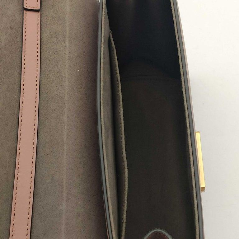 FENDI Kan I Handbag in Pink Leather 1