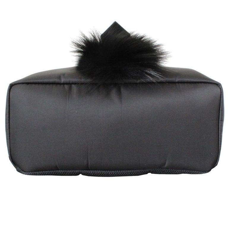 Fendi Karlito Fur Backpack In Excellent Condition For Sale In Gazzaniga (BG), IT